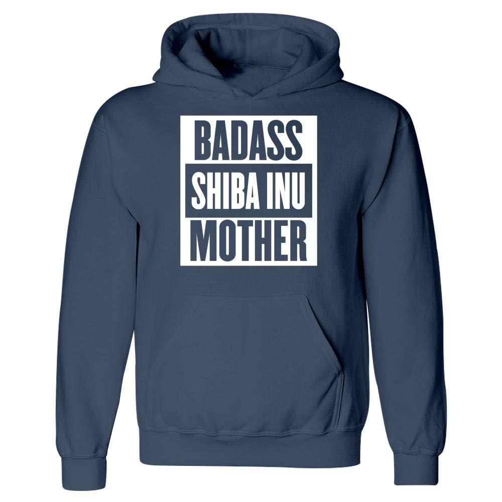 Badass Shiba Inu Mother Dog Lovers Hoodie