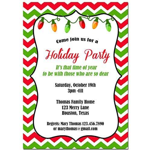 Christmas Party Invites: Amazon.com: Christmas Party Invitation