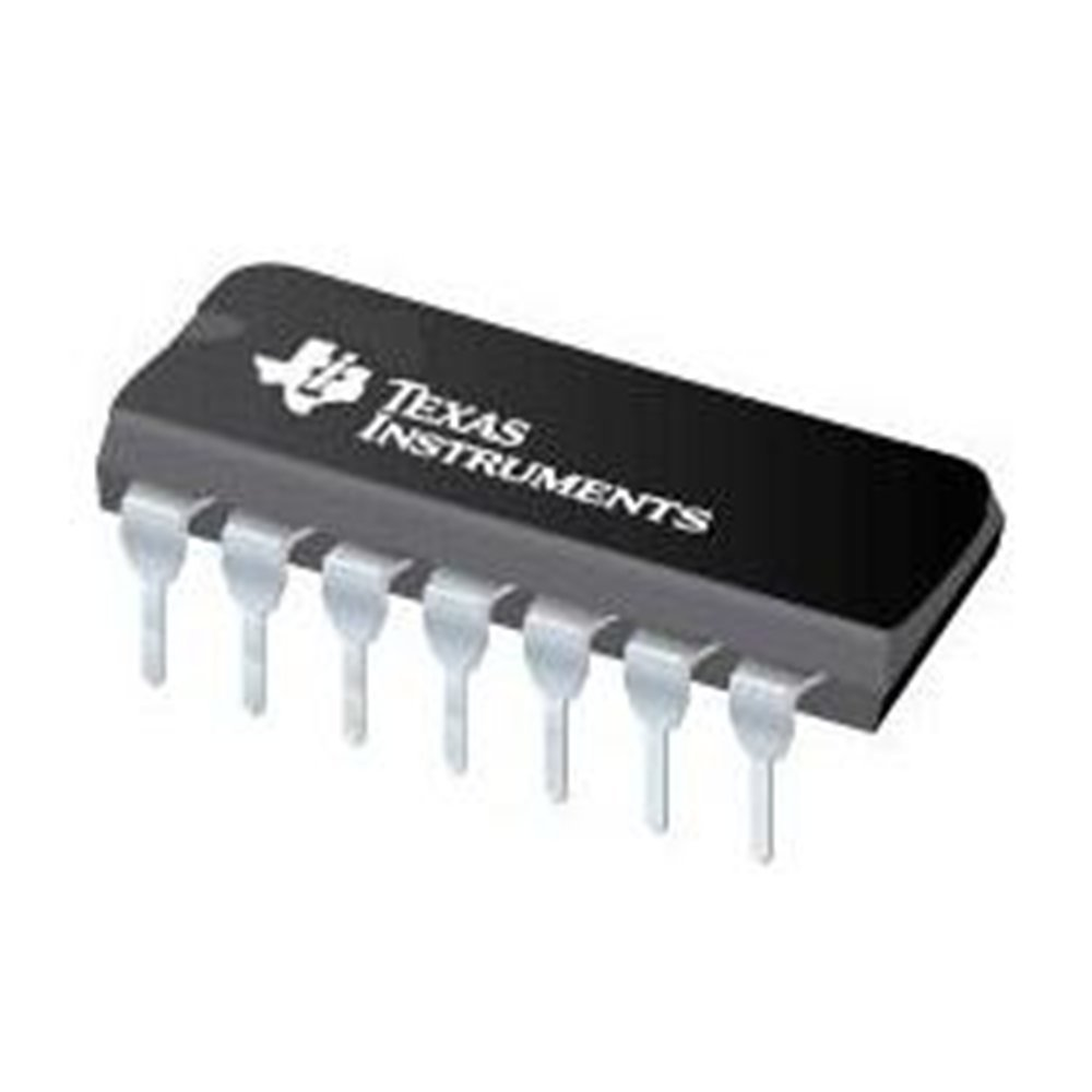 Texas Instruments Sn74ls86an Ics And Semiconductors Xor Gate 4 This Is Basically A Quad 2 Input Opencollector It Works Element Bipolar 14 Pin Plastic Dip Tube 193 Mm L X 635 W 457 H Pack