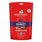 Stella & Chewy's Freeze-Dried Raw Absolutely Rabbit Dinner Patties Dog Food, 14 oz bag