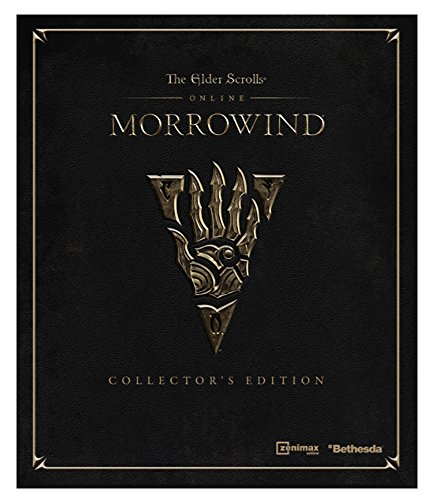 Elder Scrolls Online Morrowind Collectors Limited Edition Steelbook  No Game  Ps4 Xbox1 Pc