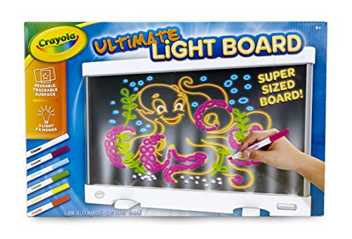 Crayola Ultimate Light Board, Drawing Tablet, Gift for Kids, Age 6, 7, 8, 9 ()