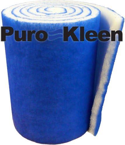 Puro-Kleen Kleen-Guard Pond and Aquarium Filter Media 30 x 72 Pack of 2 12 Feet Total