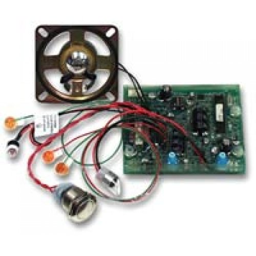VIKING ELECTRONICS E-1600-50A / CIRCUIT BOARD/BUTTON/SPEAKER FOR 1600A SERIES PHONE by Viking