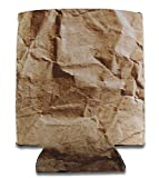Brown Paper Bag Can Insulated Can Drink Cooler (Size - 12 oz.)