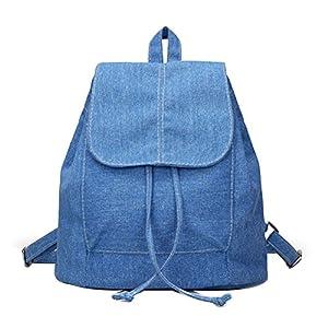 Donalworld Women Casual Cover Drawstring Backpkack Bag