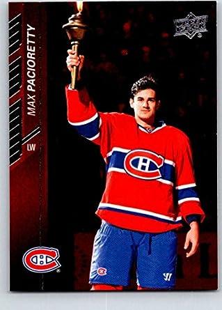 pretty nice 5f9aa dea37 Amazon.com: 2015-16 Upper Deck Hockey Series 1#100 Max ...