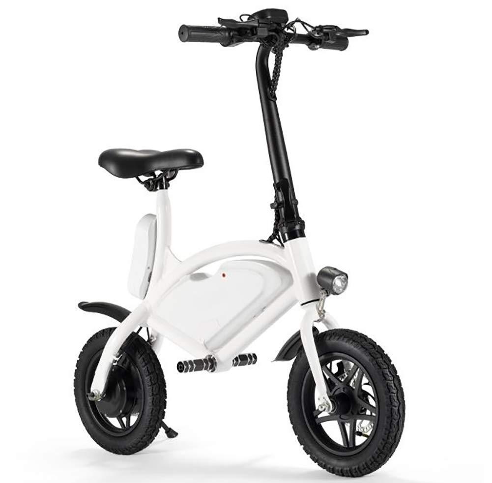 con 60% de descuento blanco TX Bicicleta Bicicleta Bicicleta eléctrica Plegable Mini Uso de ciclomotor de Litio con batería de Litio, Uso con Pantalla LCD  mejor vendido
