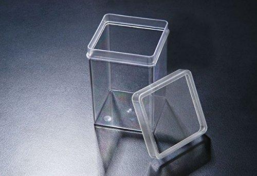 SPL Incu Tissue (Square Vessel for Plant Culture), PC, 72x72x100mm,Autoclavable, Transparent Case of 120