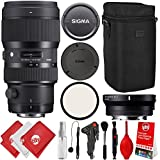 Sigma 50-100mm f/1.8 DC HSM Art Lens for for Canon EF with MC-11 for Sony E Mount Alpha a7, a7R II, a7S, a7, a7 III, a7R, a9, A6500, A6300, A6000, NEX 5, NEX 6, NEX 7 Digital Cameras