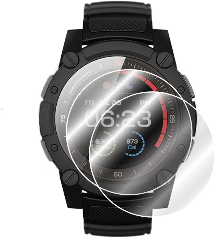 Smooth//Self-Healing//Bubble -Free by IPG for Matrix POWERWATCH 2 SMARTWATCH Screen Protector Invisible Ultra HD Clear Film Anti Scratch Skin Guard 2 Units