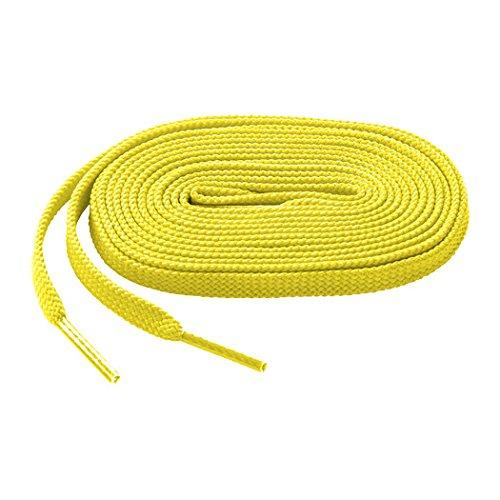 Mizuno Shoelace, Yellow, 47''