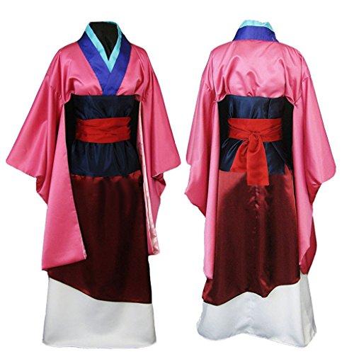 [CosplayDiy Women's Costume Dress for Hua Mulan Cosplay L] (Adult Mulan Costumes)