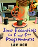 img - for Java?? Essentials for C and C++ Programmers by Barry Boone (1996-04-26) book / textbook / text book