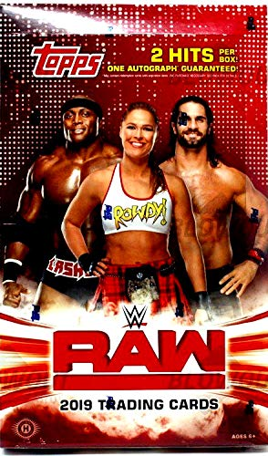 2019 Topps WWE RAW Wrestling HOBBY box (24 pk)