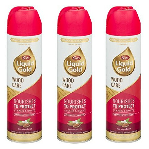 Scott's Liquid Gold Aerosol Wood Cleaner & Preservative, 10 oz (3 (Liquid Furniture Polish)