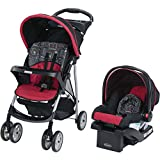 Graco LiteRider Click Connect Travel System - Chalk Art - Canopy with peek-a-boo window