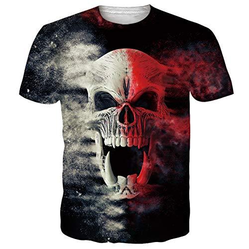 Spreadhoodie Uniseks T-shirts met 3D-print, korte mouwen, zomer, casual, heren t-shirt, top, tees, S-2XL