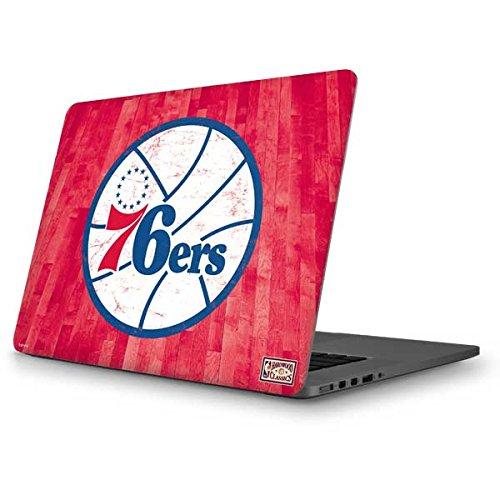Skinit NBA Philadelphia 76ers MacBook Pro 13 (2013-15 Retina Display) Skin - Philadelphia 76ers Hardwood Classics Design - Ultra Thin, Lightweight Vinyl Decal Protection by Skinit