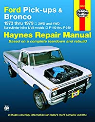 Image of the product Ford Pickups and Bronco that is listed on the catalogue brand of Haynes.