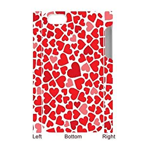 ALICASE Diy 3D Protection Hard Case Love Pink For Iphone 5C [Pattern-1]