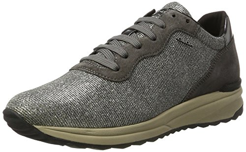 clearance with mastercard Geox Women's Airell 1 Fashion Sneaker Gun/Dark Grey buy cheap in China cheap original discount pre order clearance amazing price CDHiAfRuh