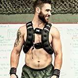 OneFitWonder 20 Lb Exercise Weight Vests/Adjustable Weighted Vest for Fitness & Workout Vest Training (L/XL) For Sale