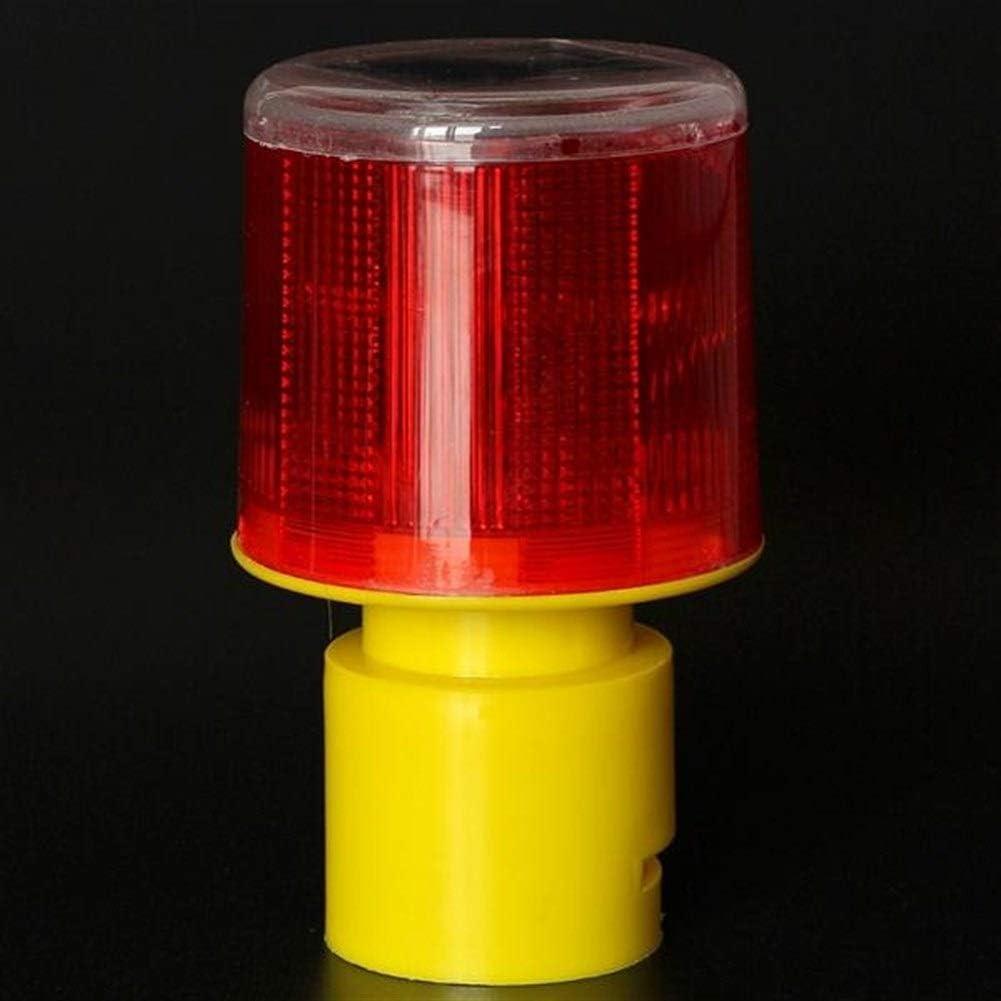 Luces al aire libre a prueba de agua La iluminación exterior solar Tráfico Desarrollado advertencia de seguridad de luz LED señal de baliza de alarma lámpara de emergencia Decoración: Amazon.es: Iluminación