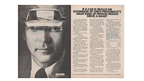 Magazine Print Ad 1983 Saab Price List 900S, 900 Turbo, APC,