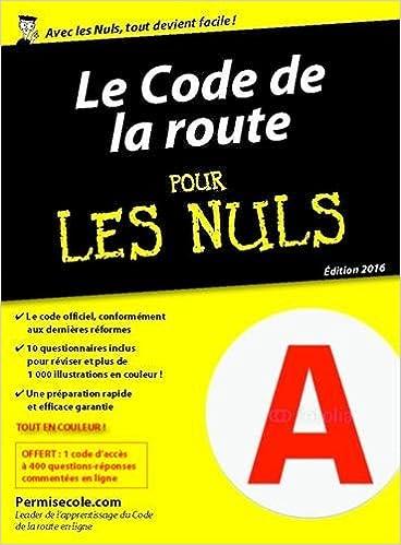 Téléchargements ebooks gratuits pour ipad Le code de la route 2016 pour les Nuls poche in French PDF RTF 2754082484
