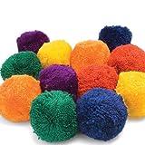 Us Games Colored Fleece Balls (One Dozen)