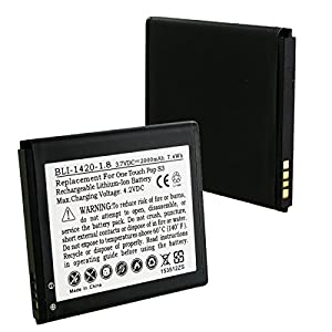 Alcatel ONETOUCH POP STAR Cell Phone Battery (Li-Ion 3.7V 2000mAh) - Replacement For ALCATEL TLP020A2 and TLP020A1 Cellphone Battery