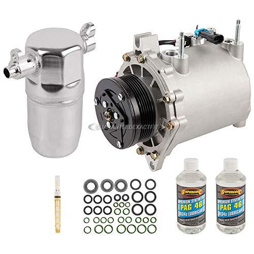 AC Compressor w/A/C Repair Kit For Cadillac DeVille & Pontiac Bonneville - BuyAutoParts 60-81238RK NEW