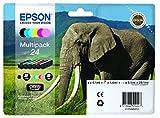 Epson 24 Series Elephant Claria Photo HD Multipack Ink Cartridge