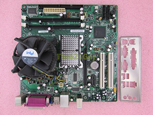 (Intel D945GCCR 945GC Motherboard MATX + Pentium D 3.20GHz CPU + HSF I/O Plate)