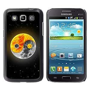 "For Samsung Galaxy Win I8550 , S-type Yin yang Luna Sol"" - Arte & diseño plástico duro Fundas Cover Cubre Hard Case Cover"