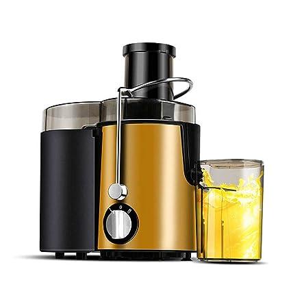 Dapang Exprimidor eléctrico Big Mouth Juice Extractor, 400 vatios, Exprimidor silencioso y Prensa fría