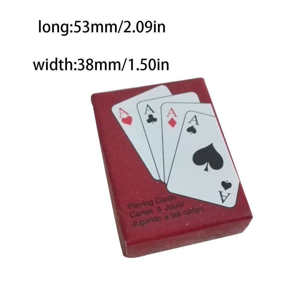 Amazon.com: Baynne Playing Cards,Poker Size Standard Index,1 ...