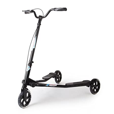 AODI 3 Wheeled Scooter Push Swing Wiggle Scooters Speeder Wheel Kick Scooter for Boys/Girl/Adult Ages 9 and Over