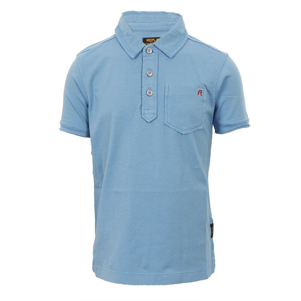 Replay Camiseta Polo azul 7534 Joven Azul azul: Amazon.es: Ropa y ...