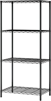 Unified shelves metal shelf for various measures pack of 5 panels