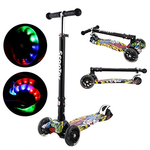 Fashine Folding T-bar Adjustable Height Mini Ki...