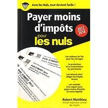 PAYER MOINS D'IMPOT POCHE POUR LES NULS 2017-2018