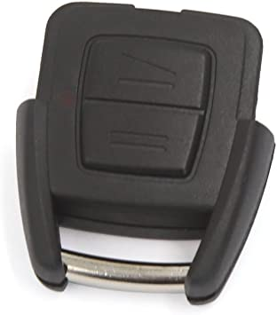 2 Button Remote Fob Case Key Shell for Vauxhall Opel Astra G Zafira Vectra C NEW