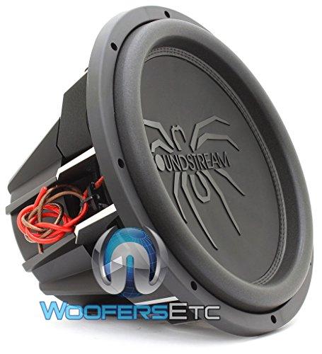 "Soundstream 2600W Peak (1300W RMS) 15"" Tarantula Series Dual 4-Ohm Car Subwoofer"