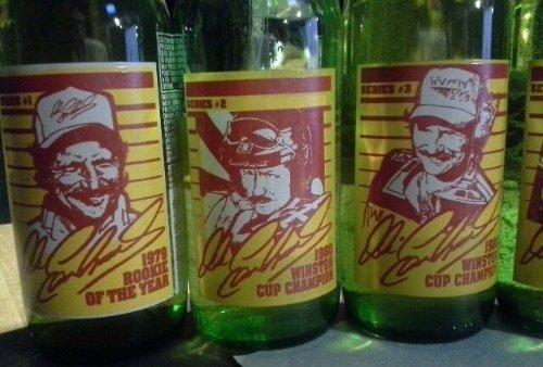 Dale Earnhardt Sr #3 Sundrop Commemorative Historical 6 Bottle Set, Rookie of Year & 5 Championships Full/Unopened With Bottle Holder by Sun (Sundrop Bottle)