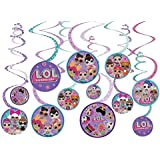 LOL Surprise! Hanging Swirl Decorations (12pc)