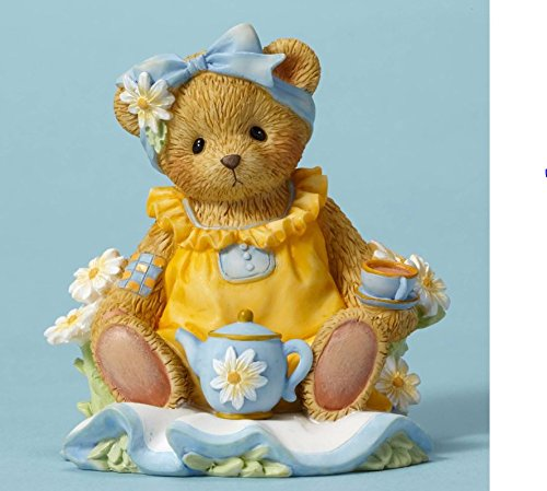 owers and Friends Suit Me to a Tea Bear Figurine CT1603 New (Cherished Teddies Bear)
