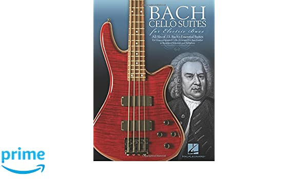 J.S. Bach: Cello Suites For Electric Bass: Johann Sebastian Bach: Amazon.es: Instrumentos musicales