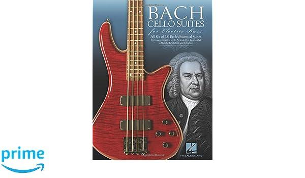 J.S. Bach: Cello Suites For Electric Bass: Johann Sebastian Bach: Amazon.es: Instrumentos musicales